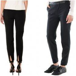 """<b>Nicola Fumo, Racked Market Editor</b>: """"<b>Tibi</b> kills it in a lot of departments, and trousers happens to be one of them. They're slim fitting (and slimming) and, much like the rest of the line, surprise you with cool little details, like the sexy"""