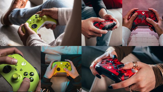Xbox Series X controllers getting two new color schemes this spring