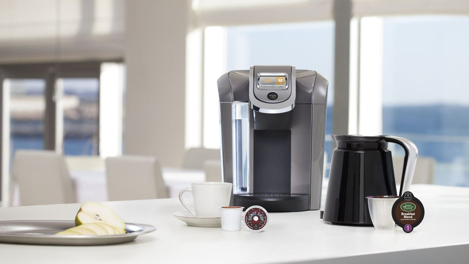 Hacking a Keurig to use cheap coffee pods only requires scissors and tape - The Verge