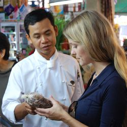 """<b>Amanda McClements, owner of <a href=""""http://www.shopsaltandsundry.com/"""">Salt & Sundry</a>:</b> """"Southeast Asia is a food lover's paradise and had always been on the top of my list as a destination. We visited Thailand, Vietnam, Singapore and Cambodia,"""