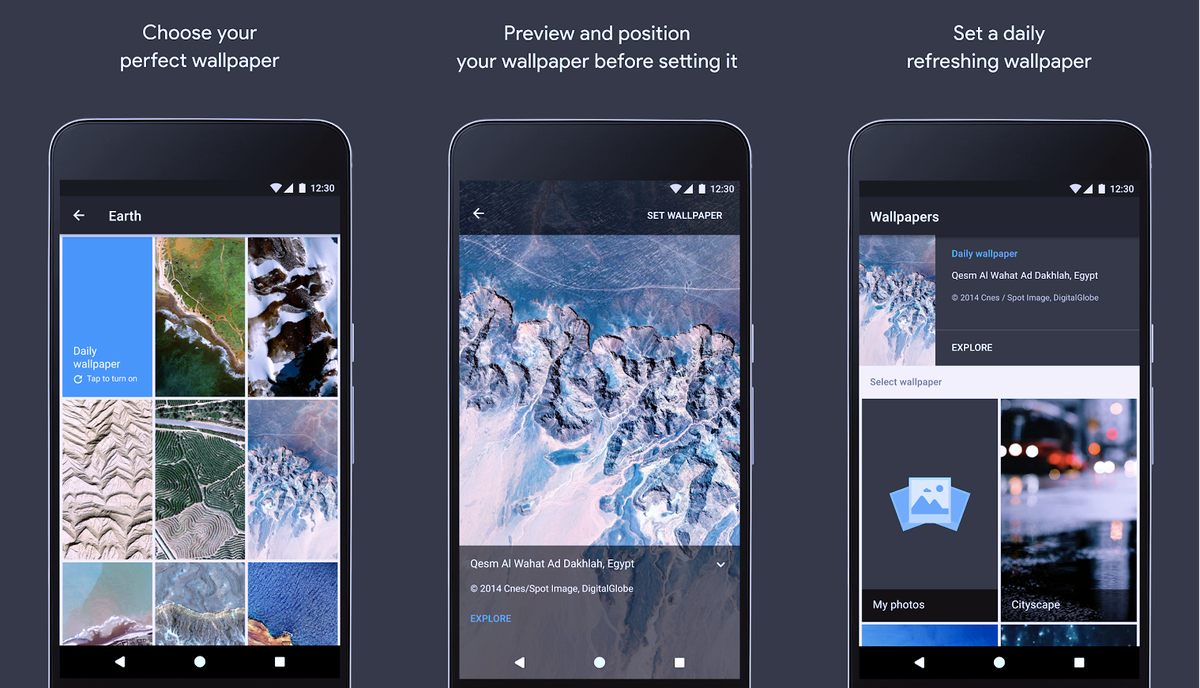 Googles New Wallpapers App Gives Your Phone That Fresh Feeling