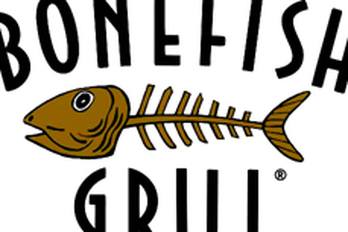 Round two for bonefish grill at town square eater vegas for Fish bone grill
