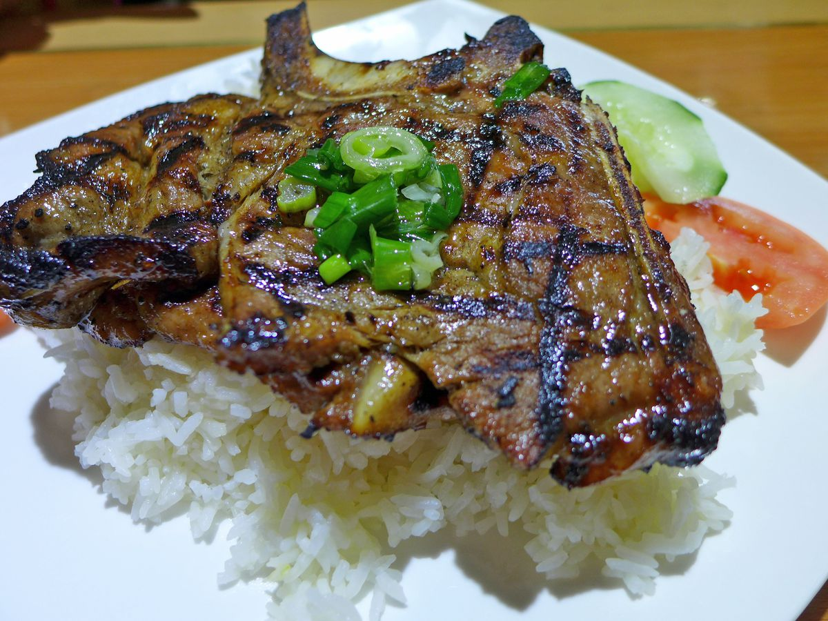 If you're a pork chop lover, Staten Island's Pho Rainbow is your place.