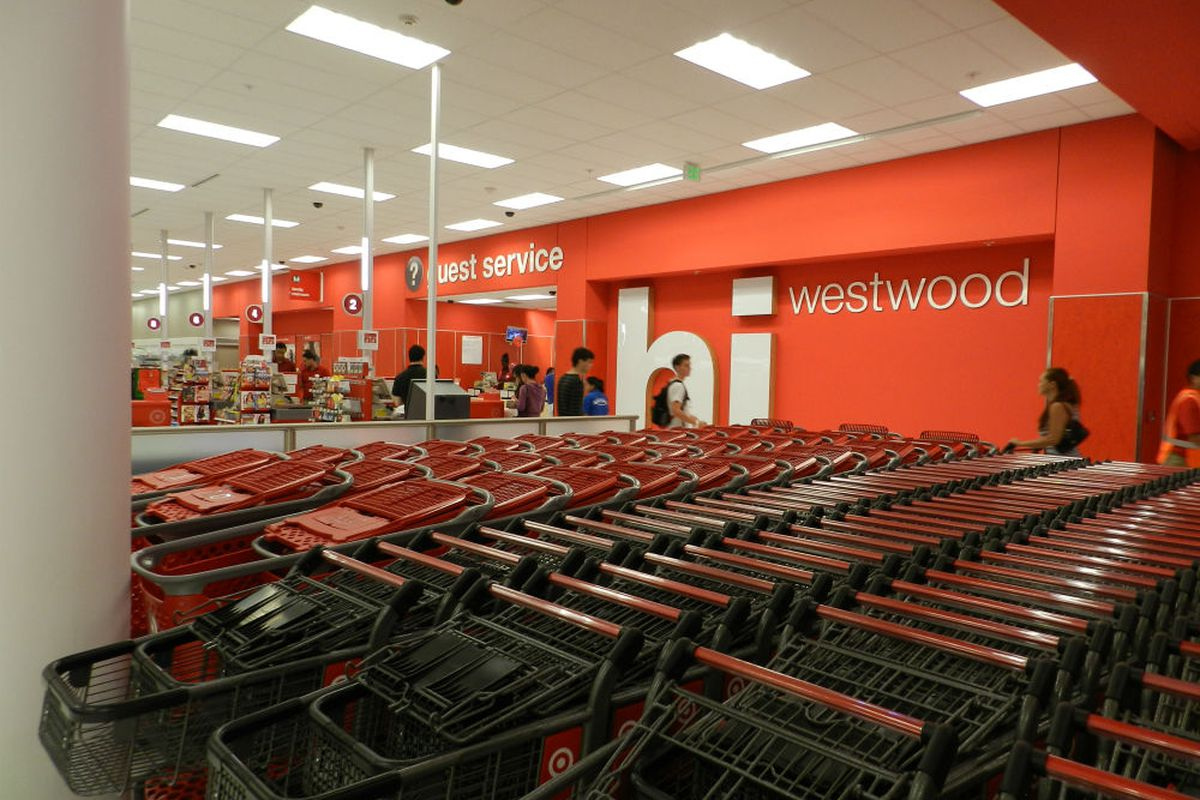 """Photo via <a href=""""http://la.curbed.com/archives/2012/07/westwood_citytarget_opens_lots_of_bikes_no_lawnmowers_1.php"""">Curbed</a>; click to expand."""