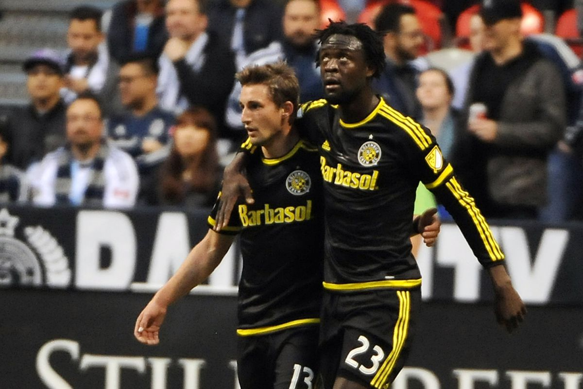 Up a Goal Twice, Columbus Crew SC Come Away with a Point in