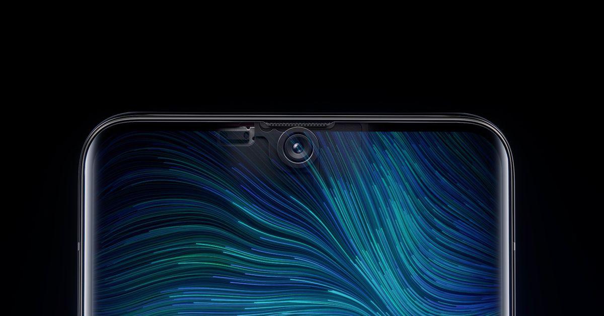 Oppo unveils the world's first under-screen selfie camera