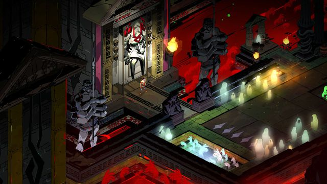 Hades is the next game from the creators of Bastion, it's out tonight