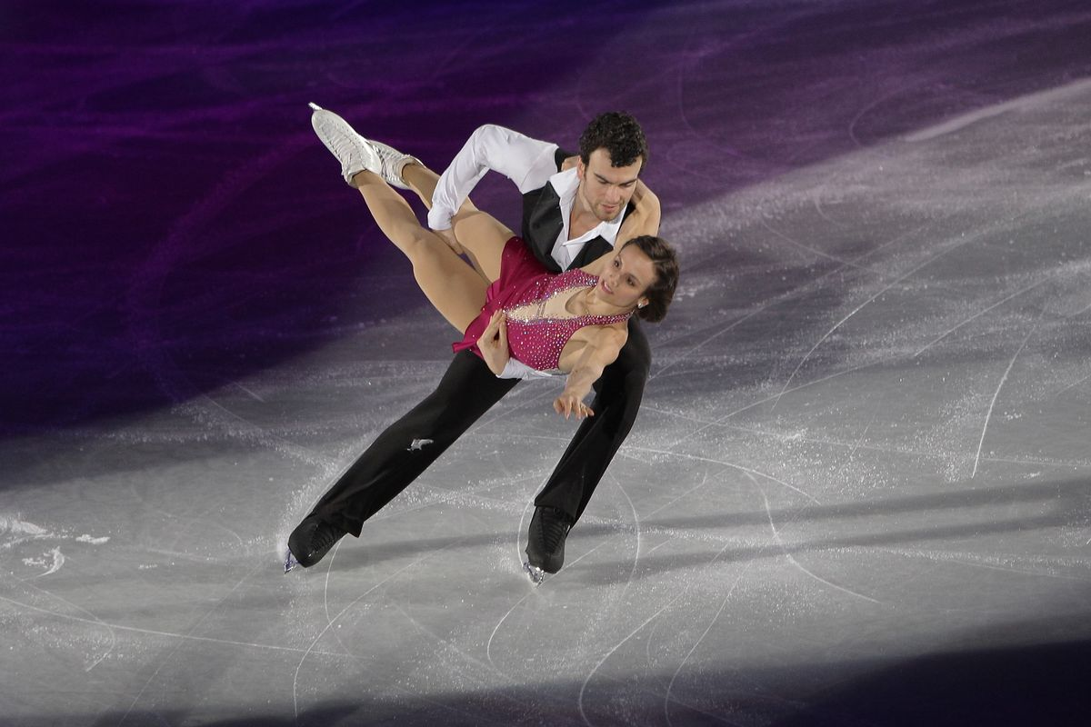 Eric Radford and Meagan Duhamel are favored to win pairs gold.