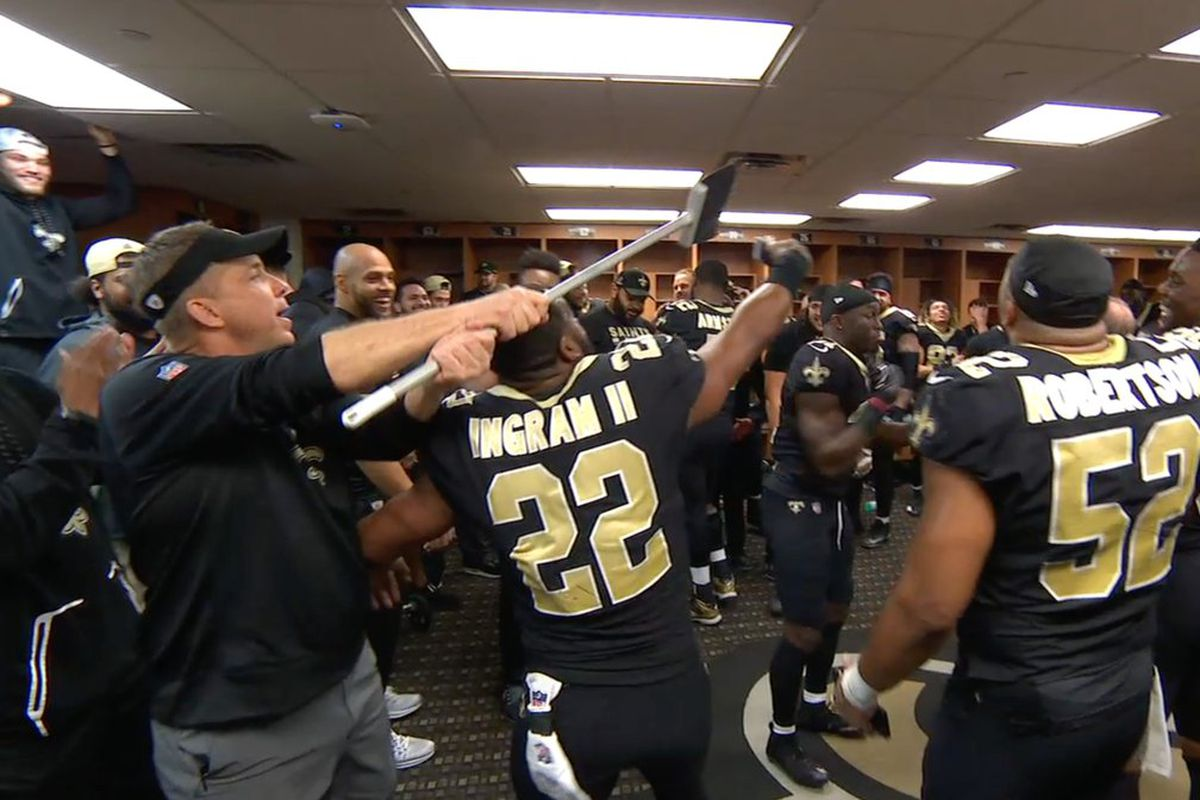 921ca4cbf67 Why did the Saints troll Cam Newton and the Panthers with brooms ...