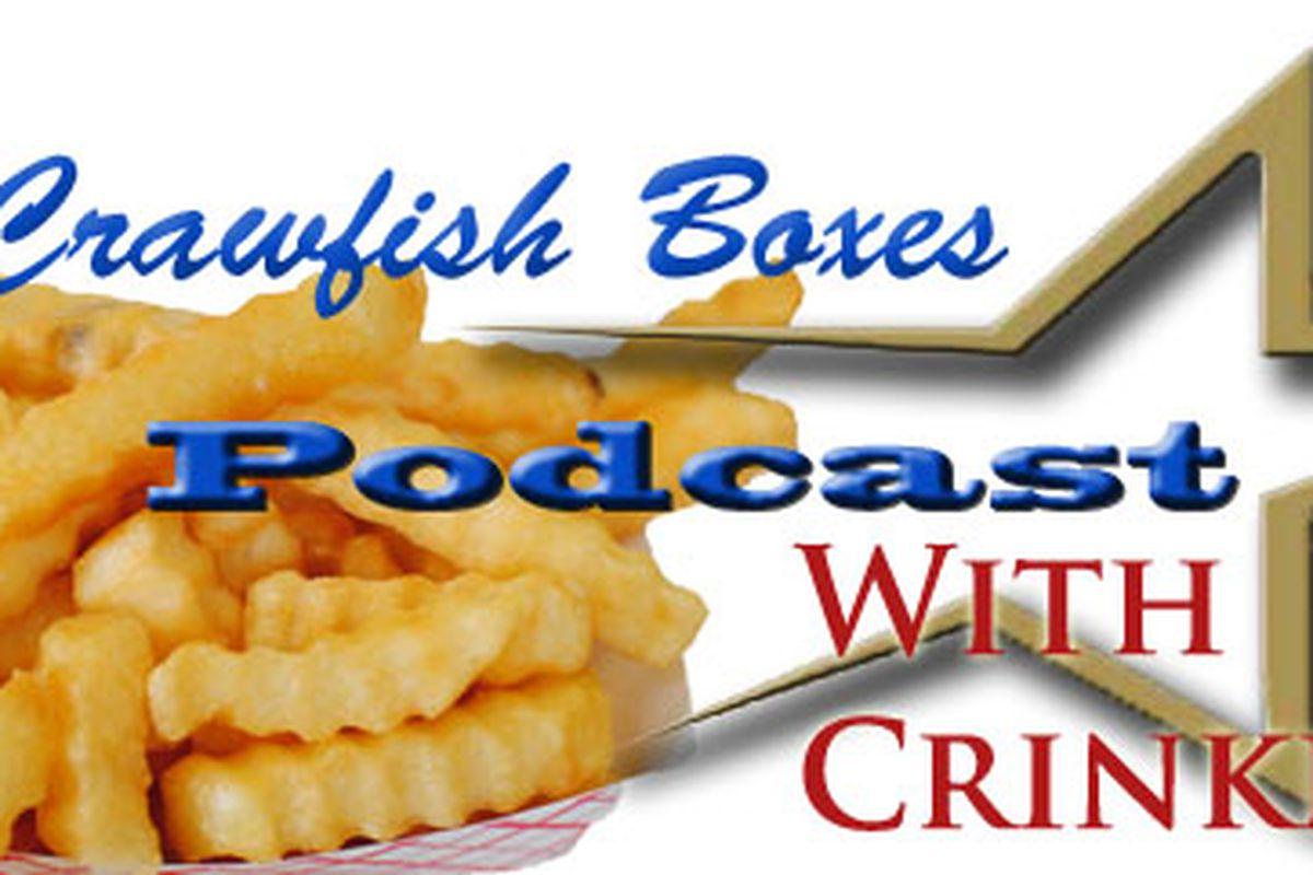 Podcast Logo Crinkle Fries