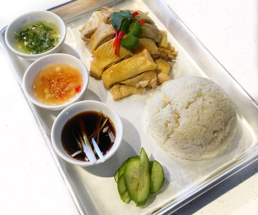 Nuro Diner Hainan chicken and rice