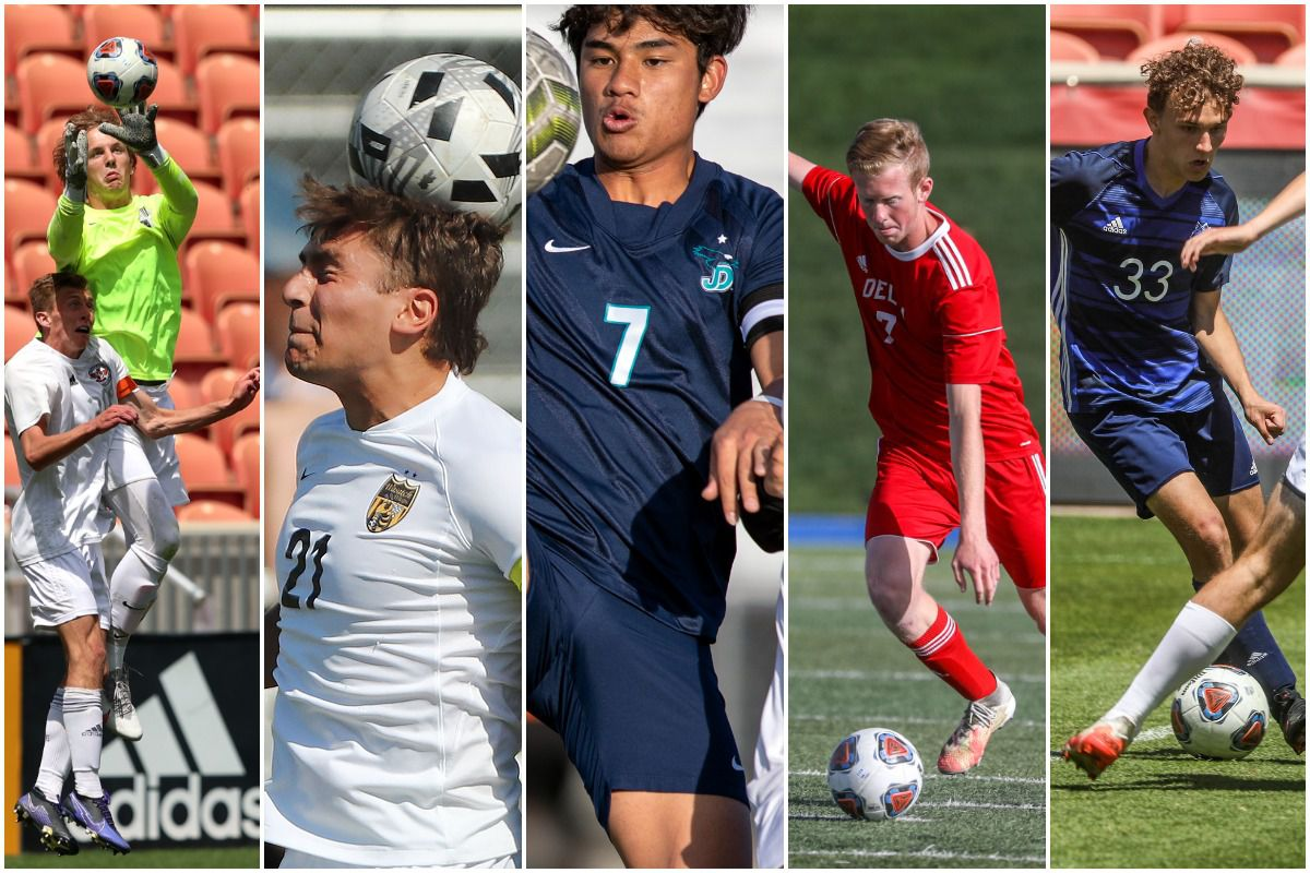 The Deseret News high school boys soccer Players of the Year for 2021 include Weber's Stockton Short (6A), Wasatch's Edgar Garcia (5A), Juan Diego's Niihau Siaou Chin (4A), Delta's Brayden Gonder (3A) and RSL Academy's Shawn Curtis (2A).