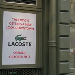 Another croc for SoHo.