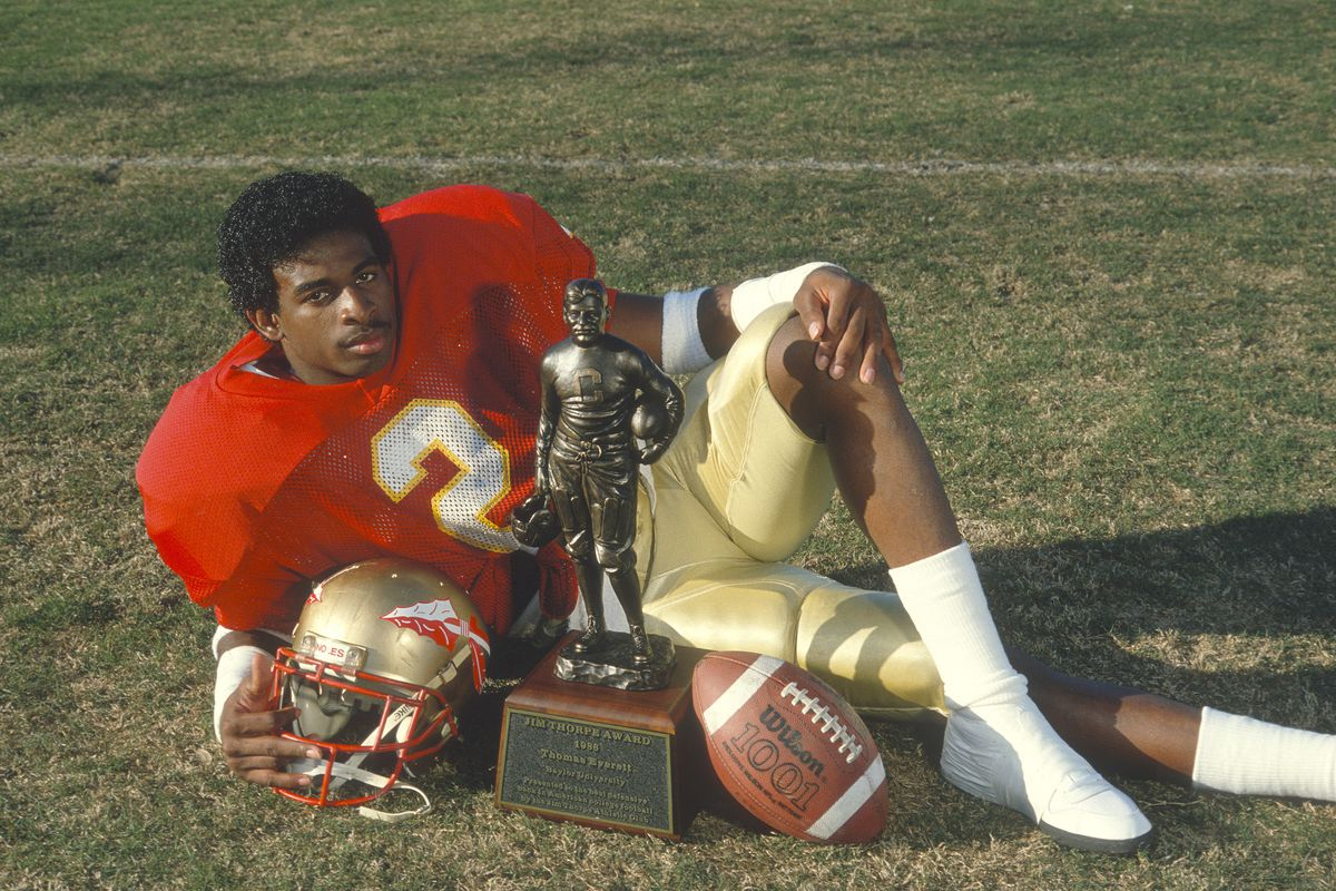 save off 85255 f50b7 The top 100 FSU football players: No. 1— cornerback Deion ...