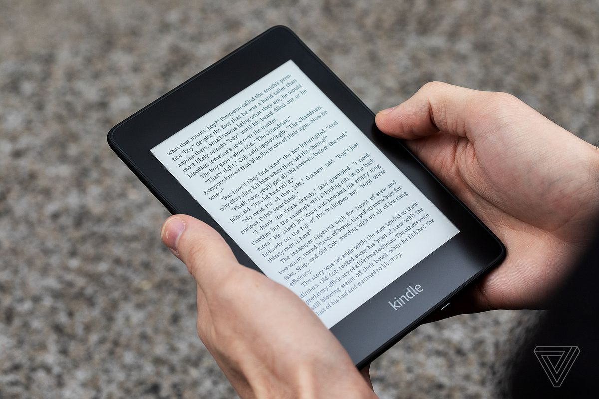 Why Amazon is tracking every time you tap your Kindle - The Verge
