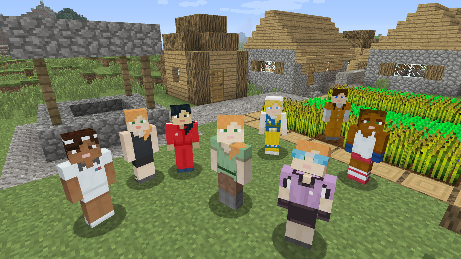 You Can Finally Choose To Play As A Girl In Minecraft The Verge