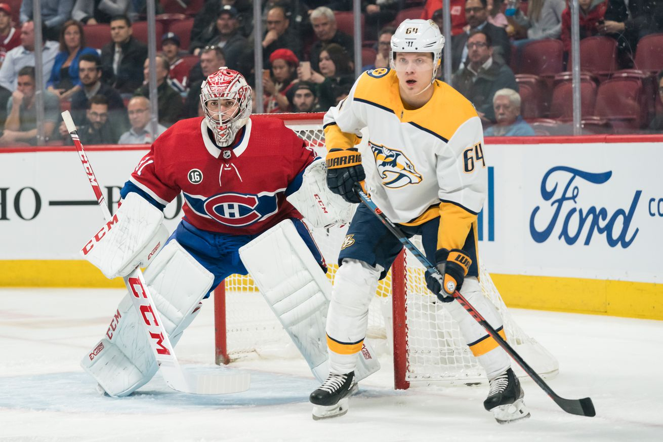 NHL: MAR 10 Predators at Canadiens