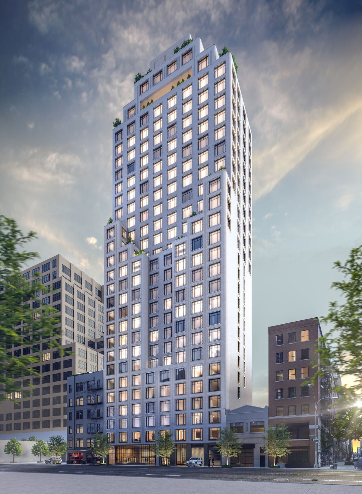 Hudson Square S 30 Story Condo Greenwich West Begins Its