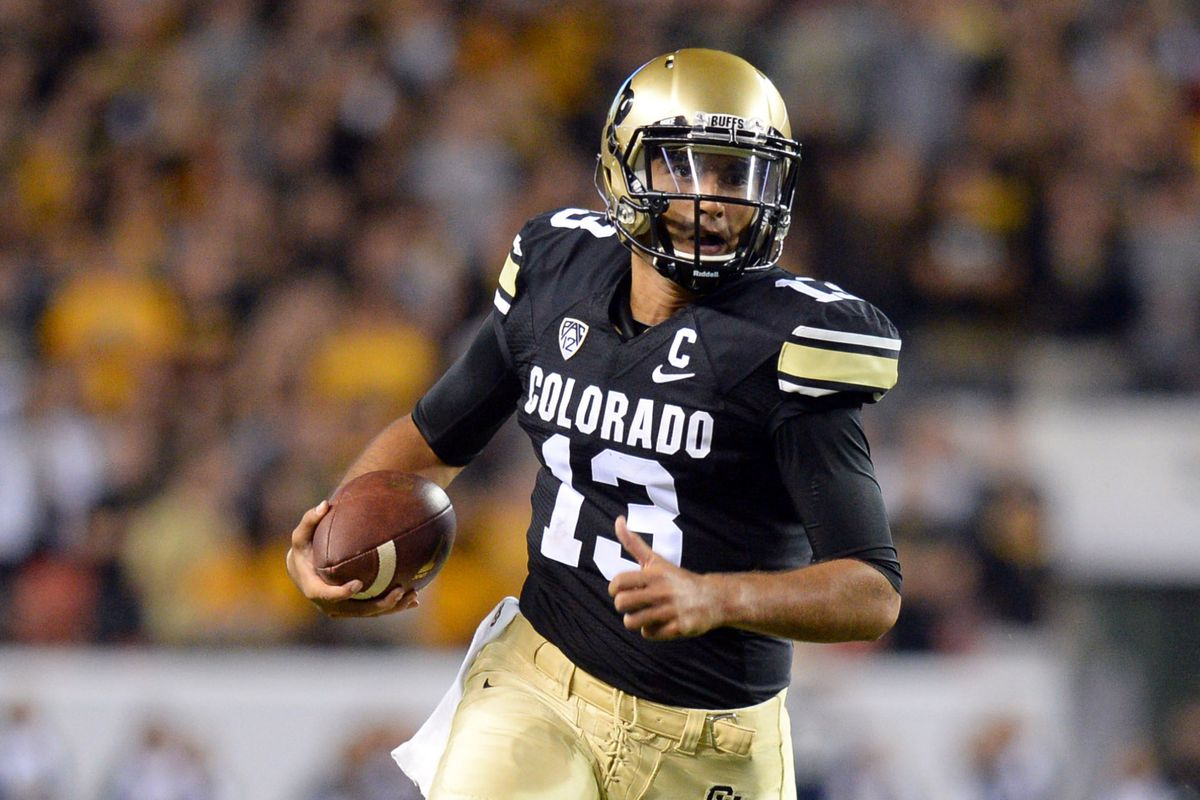 Sefo Liufau and the Buffaloes seek to claim their first win of the season on Saturday against UMASS.