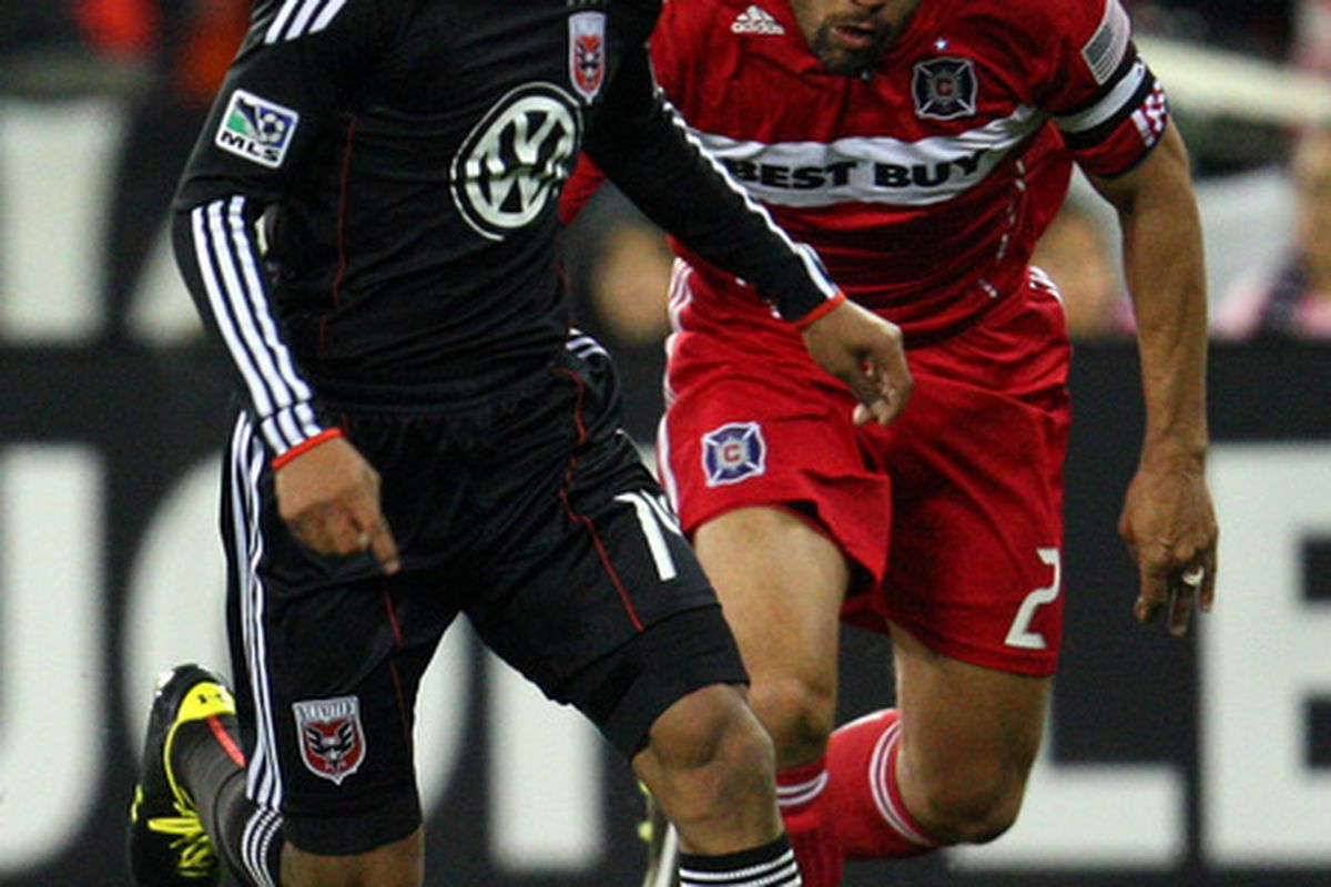 C.J. Brown - Andy Najar - Two different eras of Major League Soccer