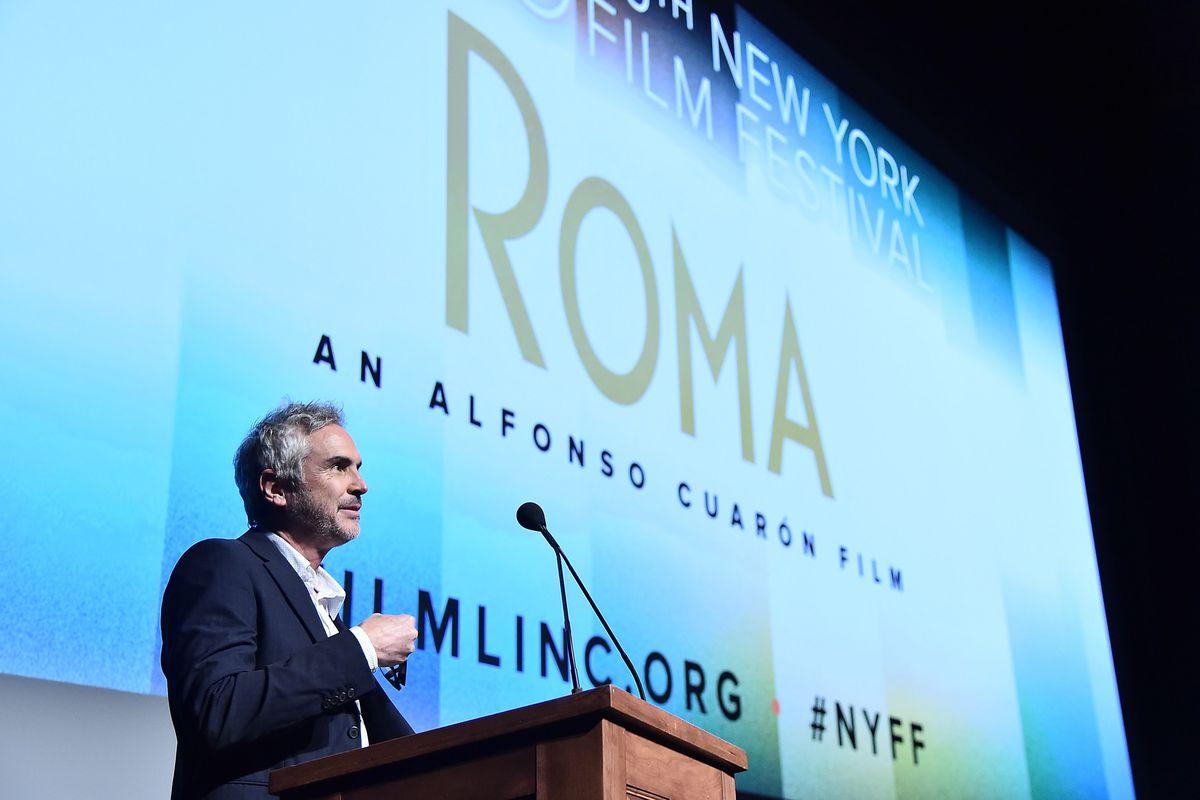 "56th New York Film Festival - ""ROMA"" - Intro"