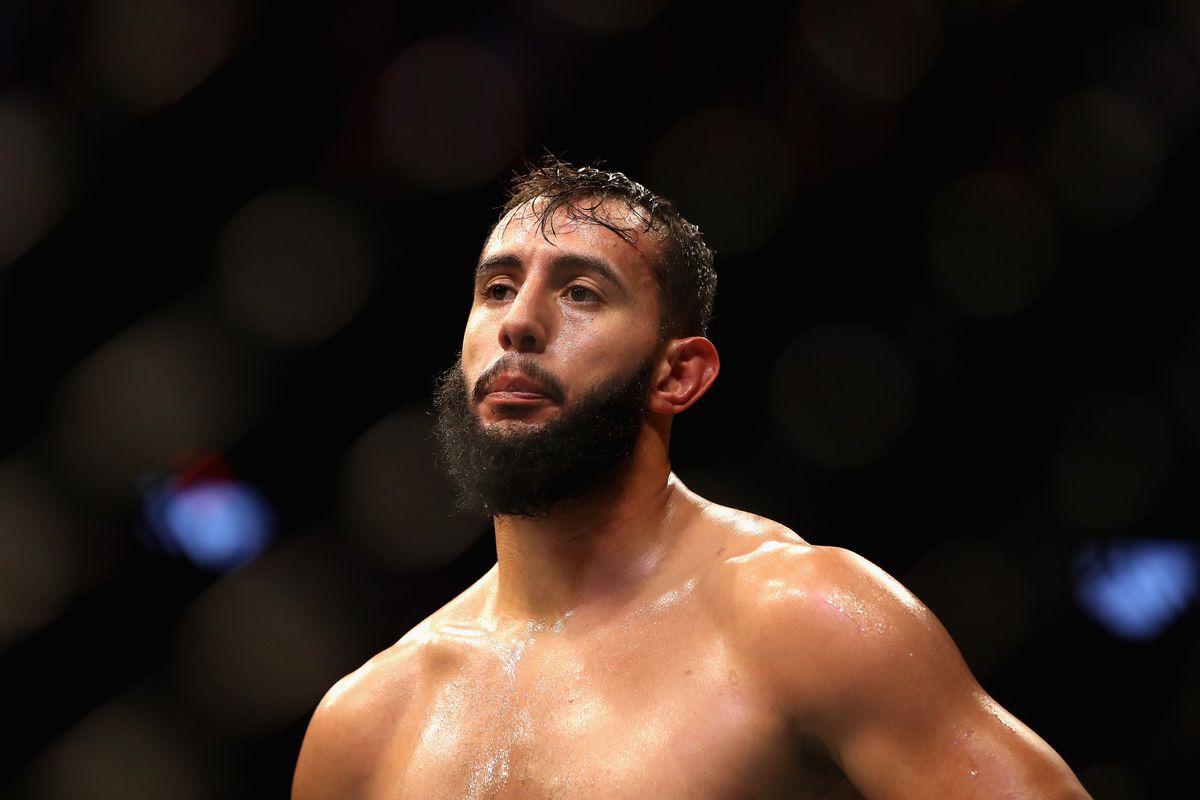 UFC 229: Saint Preux v Reyes