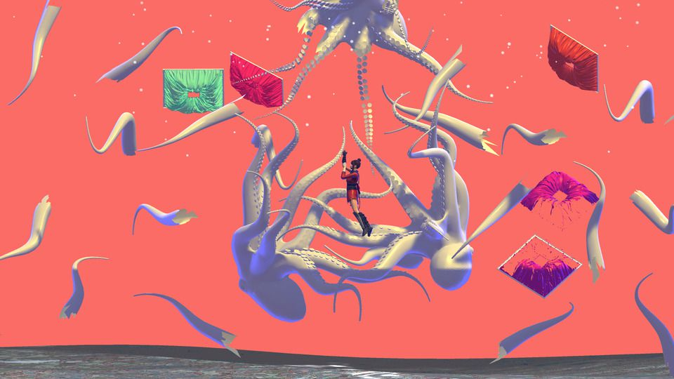 Cassie McQuater's art for Danny Brown