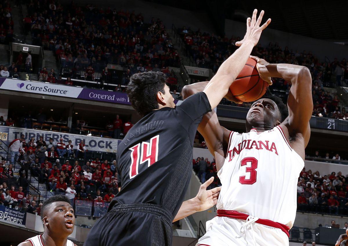 NCAA Basketball: Louisville at Indiana