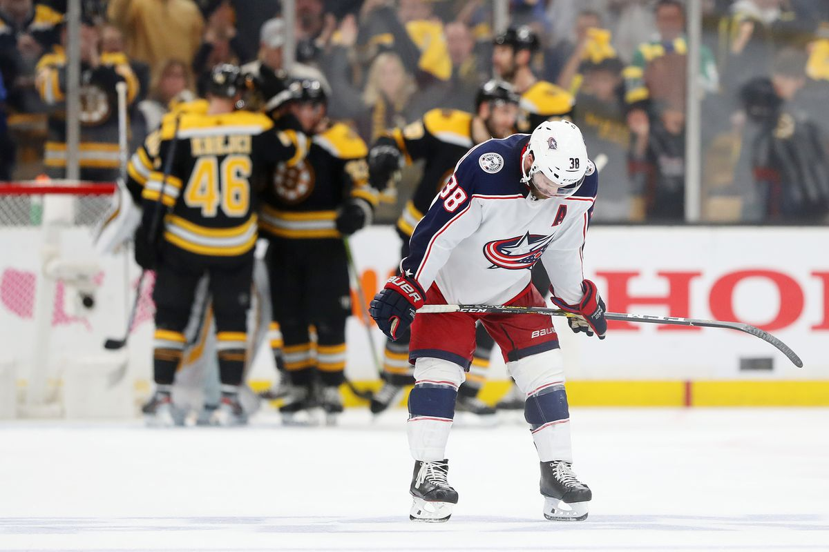 Columbus Blue Jackets v Boston Bruins - Game Five