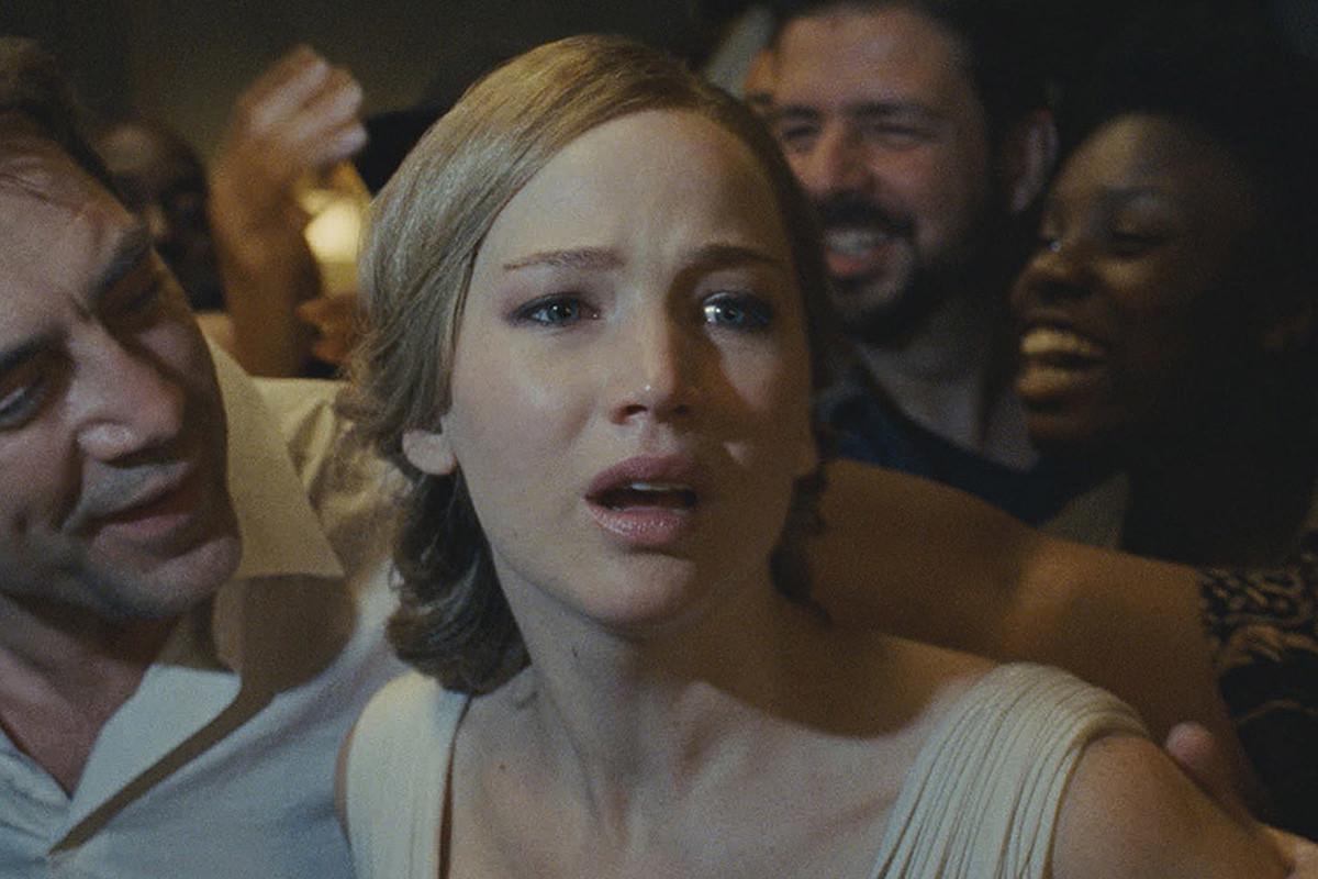 Jennifer Lawrence in 'Mother!'