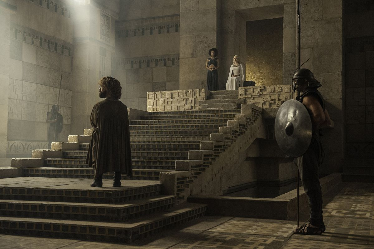At last, Tyrion and Dany can meet, something book fans have been waiting for for ages.