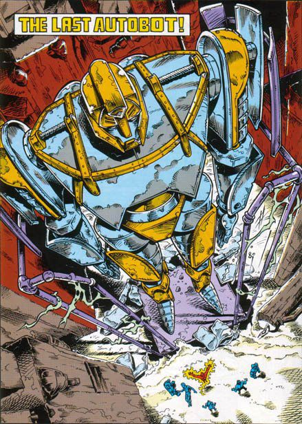 Transformers comic: the last autobot