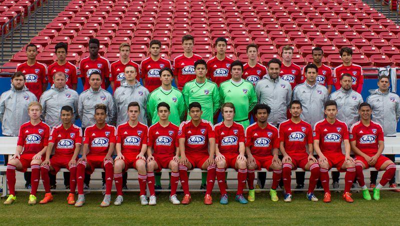 U-16 FC Dallas team