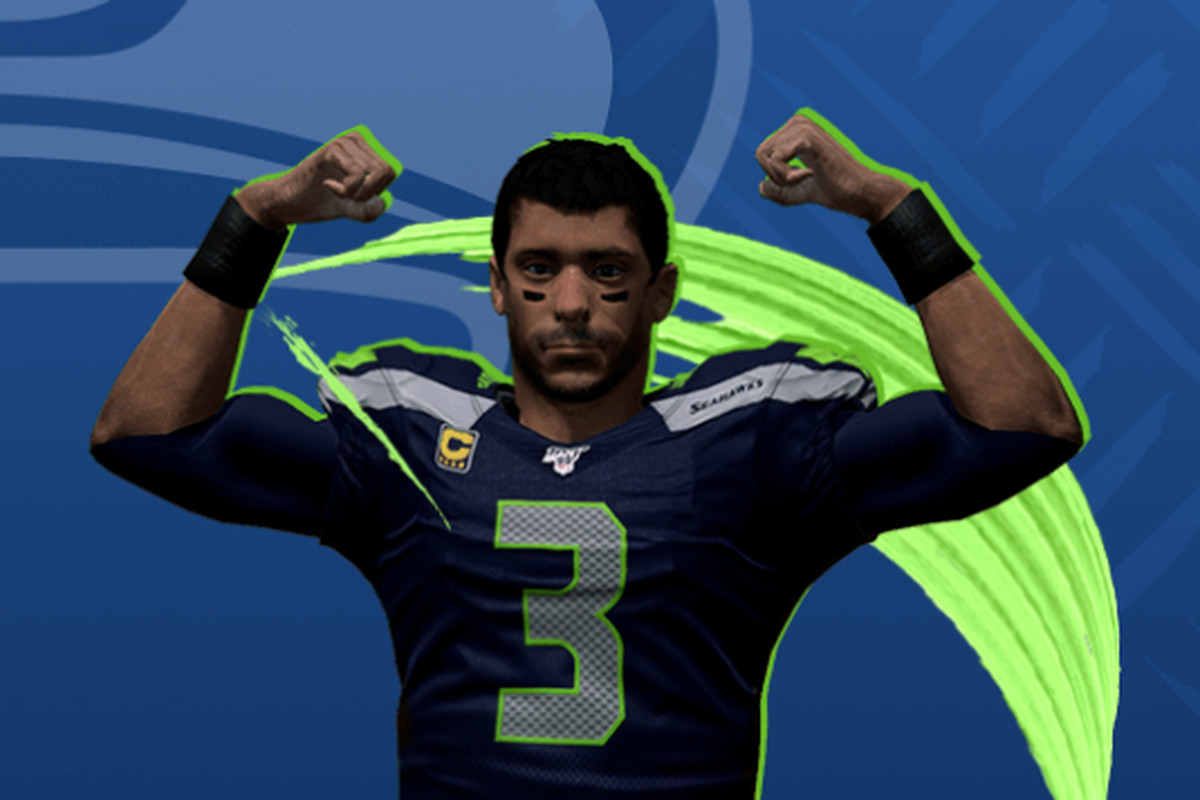 35572595 Seahawks QB Russell Wilson looks unrecognizable in Madden NFL 20 ...