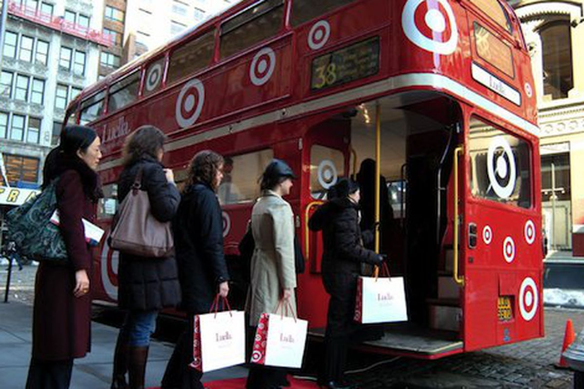 """Remember shopping the Luella for Target launch in 2006? Image via <a href=""""http://brandnoise.typepad.com/brand_noise/2006/02/fashion_itgirl_.html"""">BrandNoise</a>"""