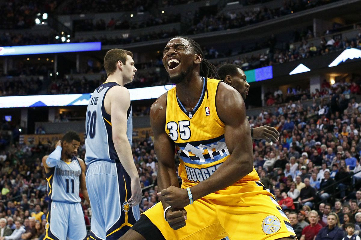Kenneth Faried wears his emotions on his sleeve, even without wearing any sleeves.