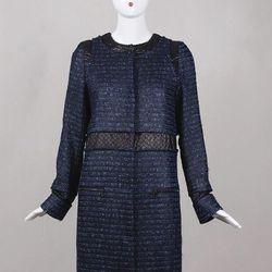 Proenza Schouler blue tweed coat was $475, now $350