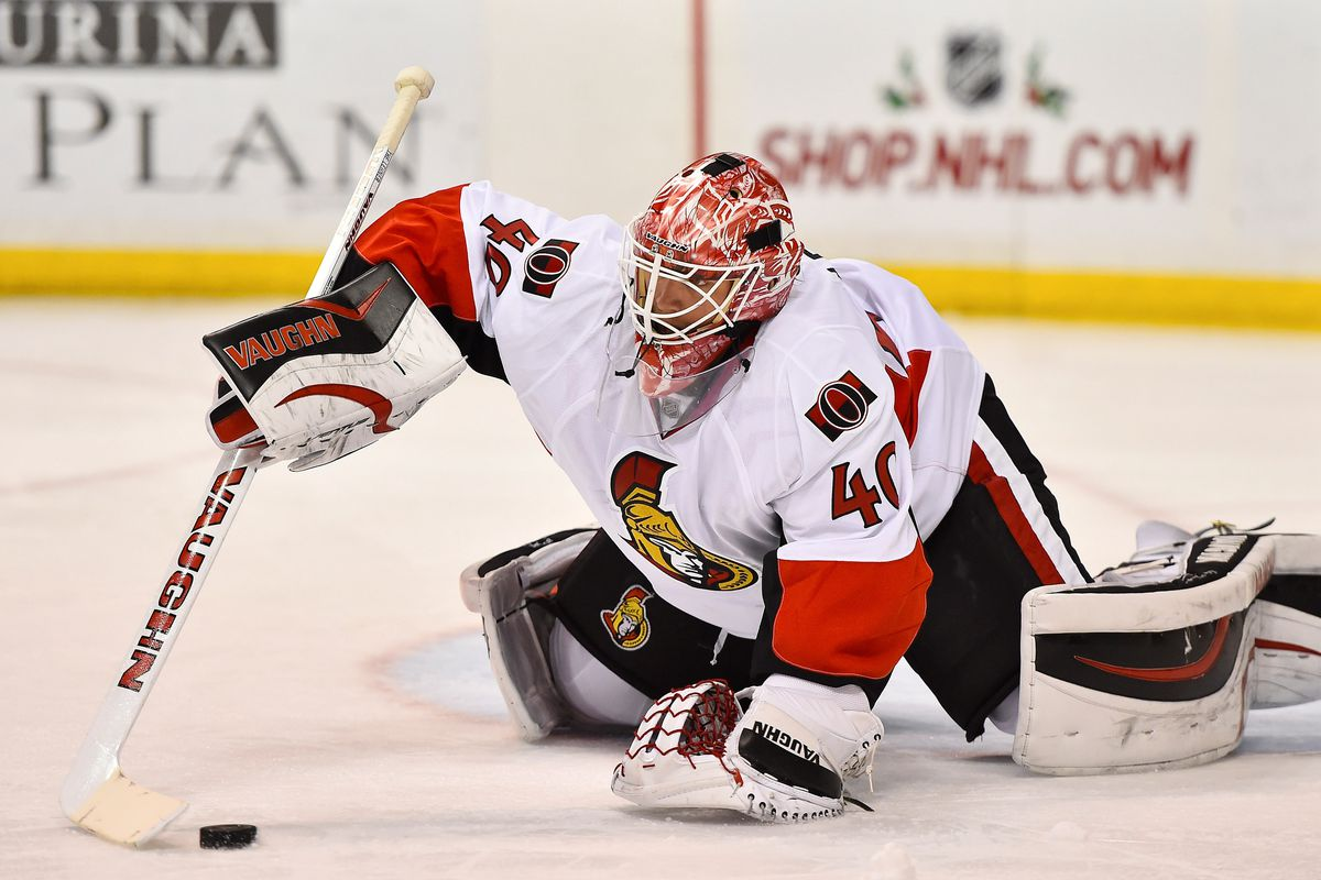 We can all agree that goaltending is definitely not one of the Senators issues this season.