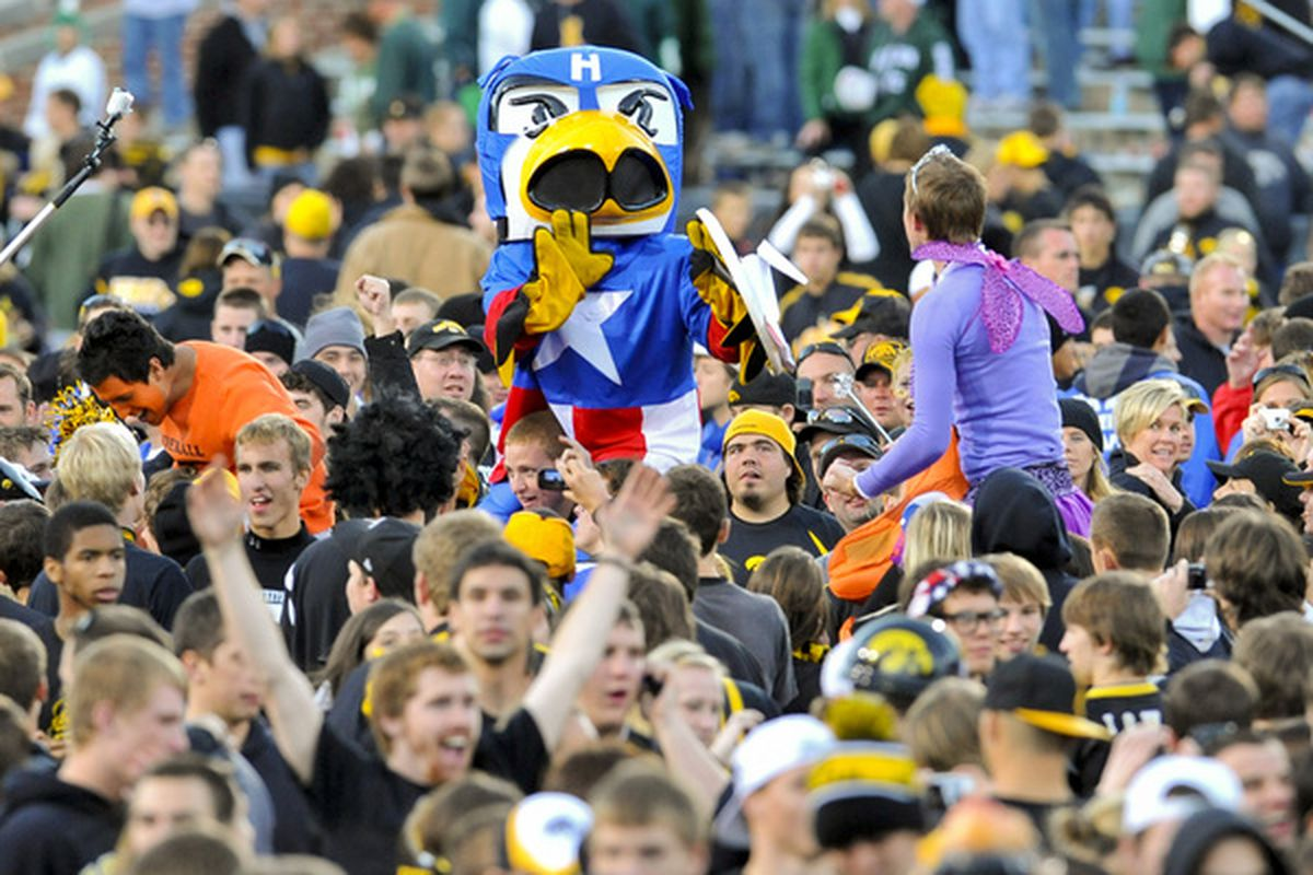 I think we all know Stanzi's alter ego is Herky.