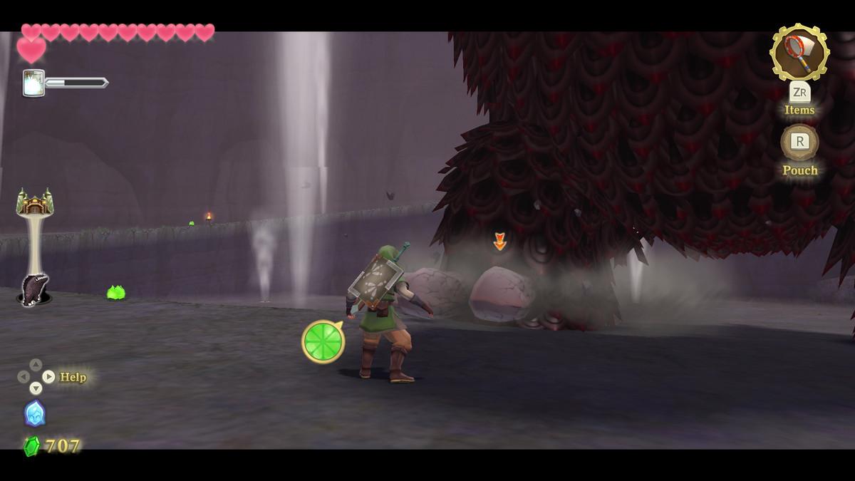 The Imprisoned boss fight in The Legend of Zelda: Skyward Sword HD