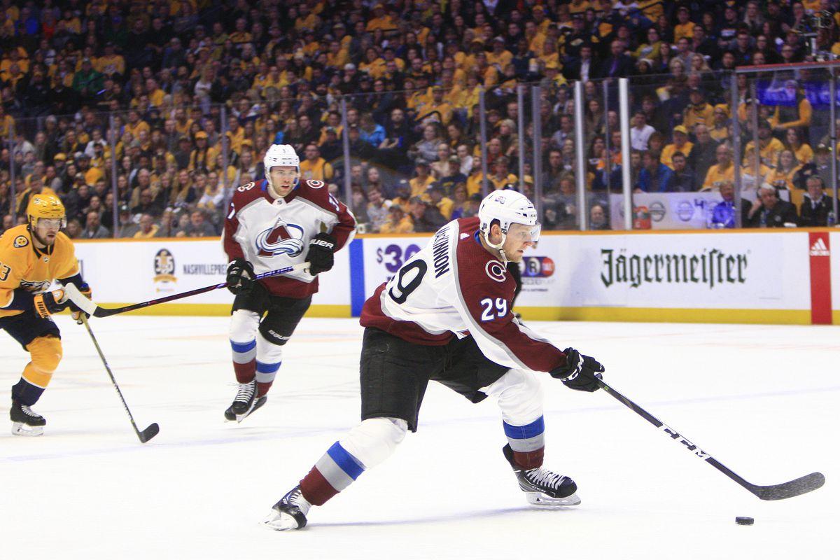 NHL: FEB 23 Avalanche at Predators
