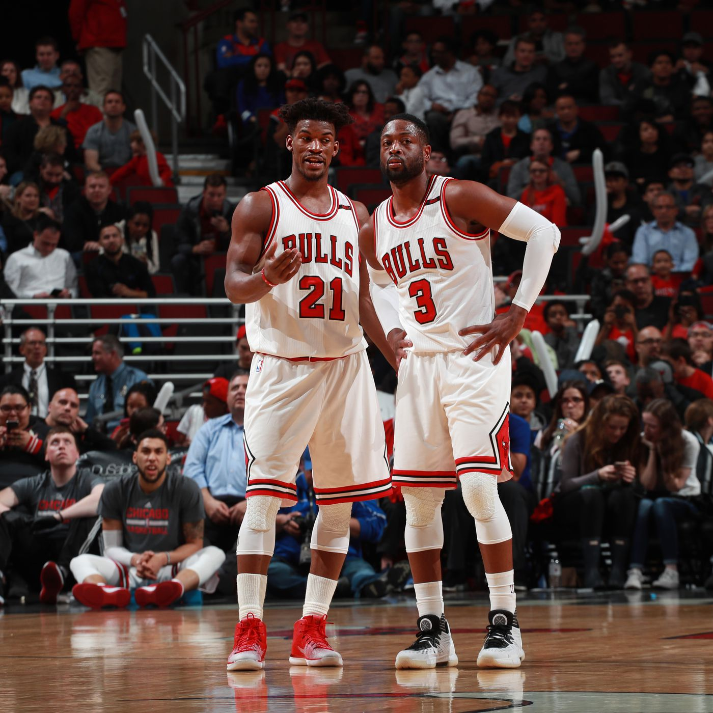 Did Dwyane Wade Plant Seeds For Jimmy Butler S Arrival In Miami While Both Were With The Bulls Sbnation Com