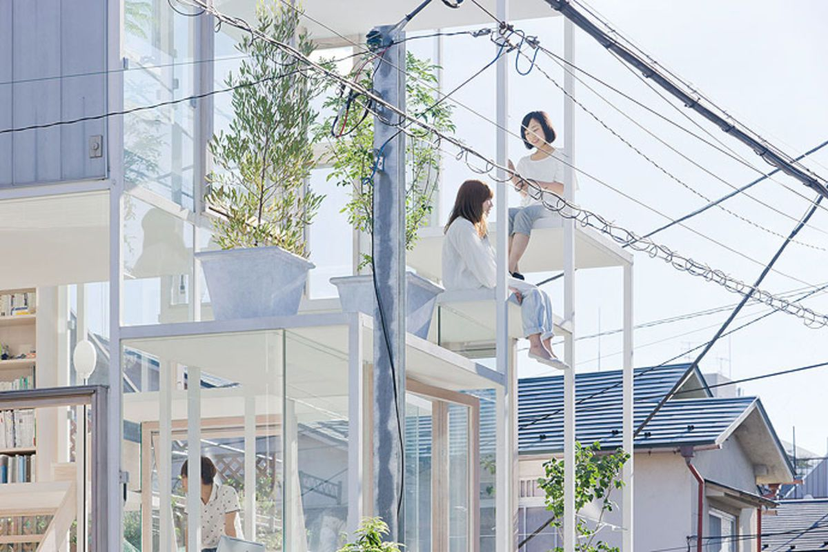 Japans Compact Eccentric Homes A Cultural History Curbed - Two-storey-single-family-residence-by-baan-design