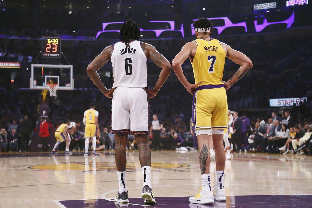 Brooklyn Nets v Los Angeles Lakers