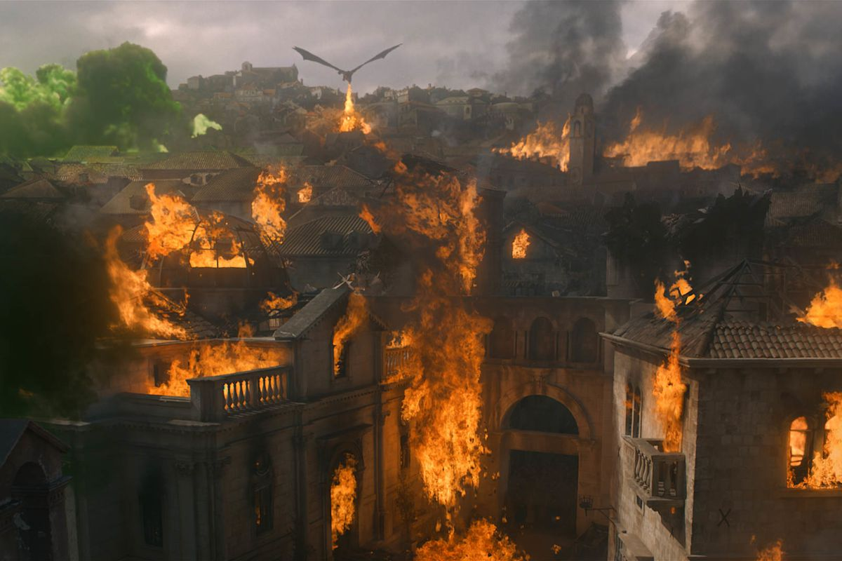 Image result for Got Season 8 finale destruction