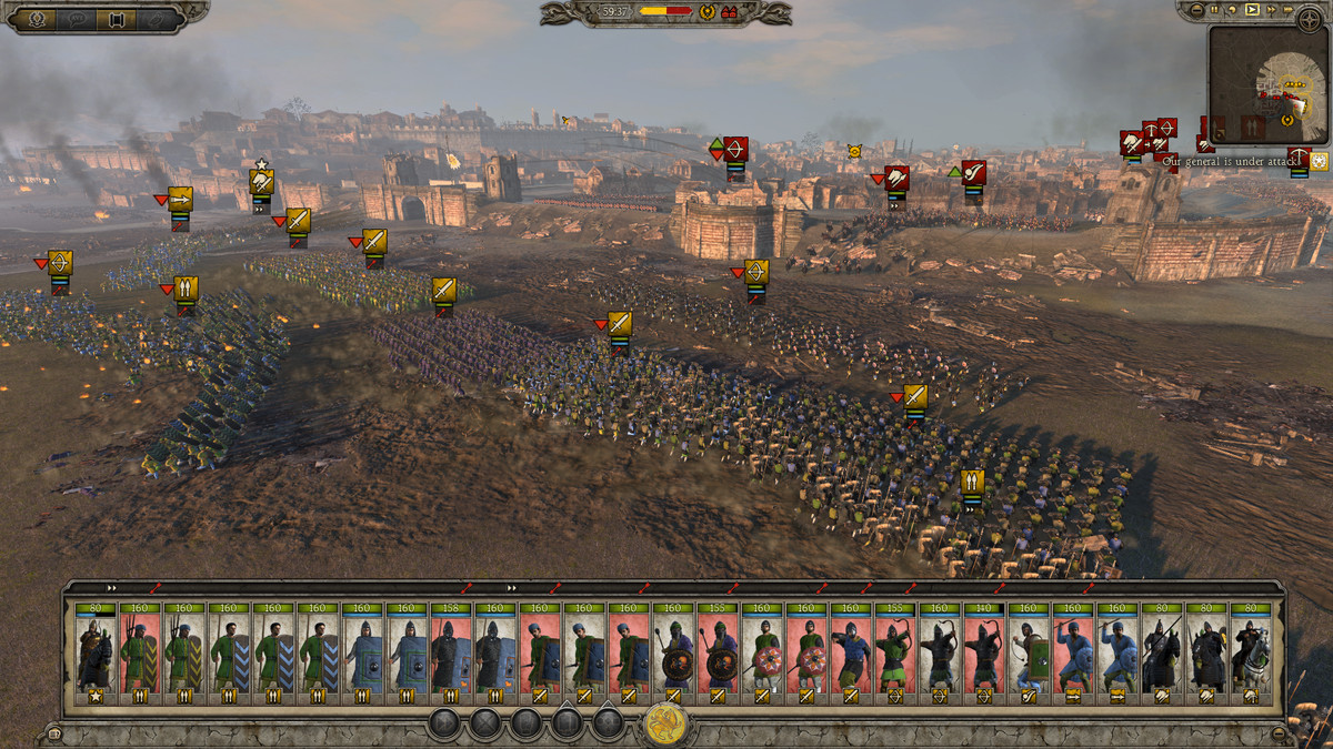 I played Attila: Total War for a few hours and became a war