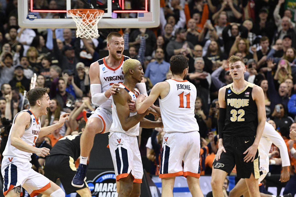 more photos 4e5db a2168 NCAA Basketball  NCAA Tournament-South Regional-Purdue vs Virginia