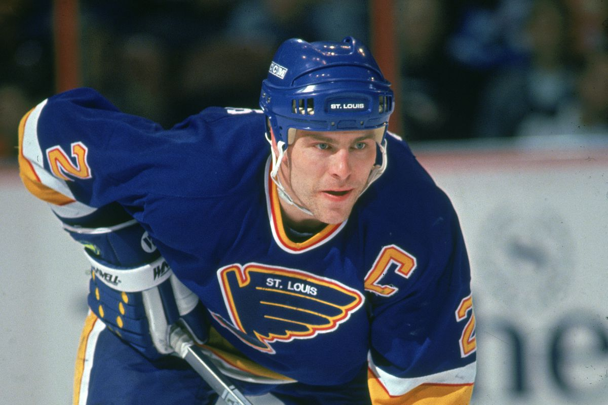 Scott Stevens On The Ice
