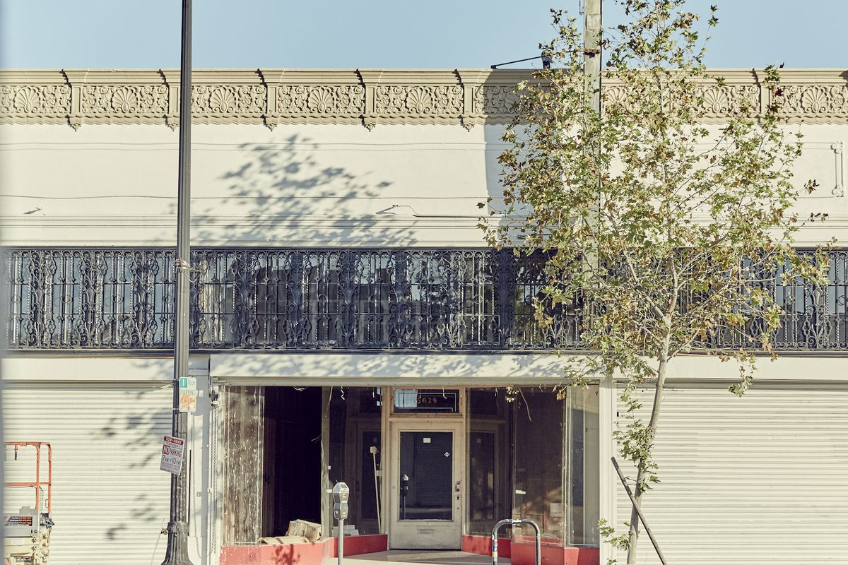 The future home of Civil Coffee and site of their weekend free pop-ups