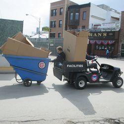 Surprise human trailer hitch -
